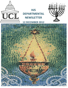 HJS DEPARTMENTAL NEWSLETTER 12 DECEMBER 2012