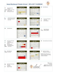 2016 2017 District Calendar The School District Of Lee County