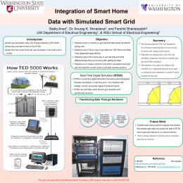 Integration of Smart Home Data with Simulated Smart Grid