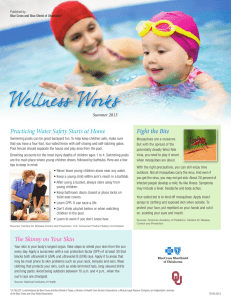 Welln ess Works Fight the Bite Practicing Water Safety Starts at Home