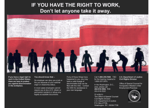 IF YOU HAVE THE RIGHT TO WORK,