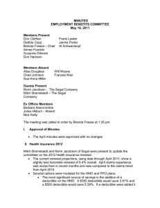 Product Information BCBSIL Provider Manual—Rev 6/13 Traditional