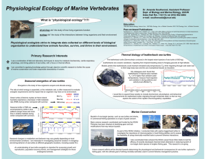 Physiological Ecology of Marine Vertebrates