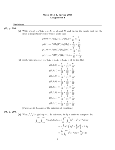 Math 5010-1, Spring 2005 Assignment 8 Problems #2, p. 290.