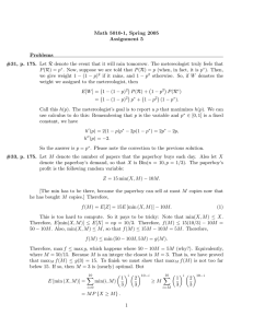 Math 5010-1, Spring 2005 Assignment 5 Problems