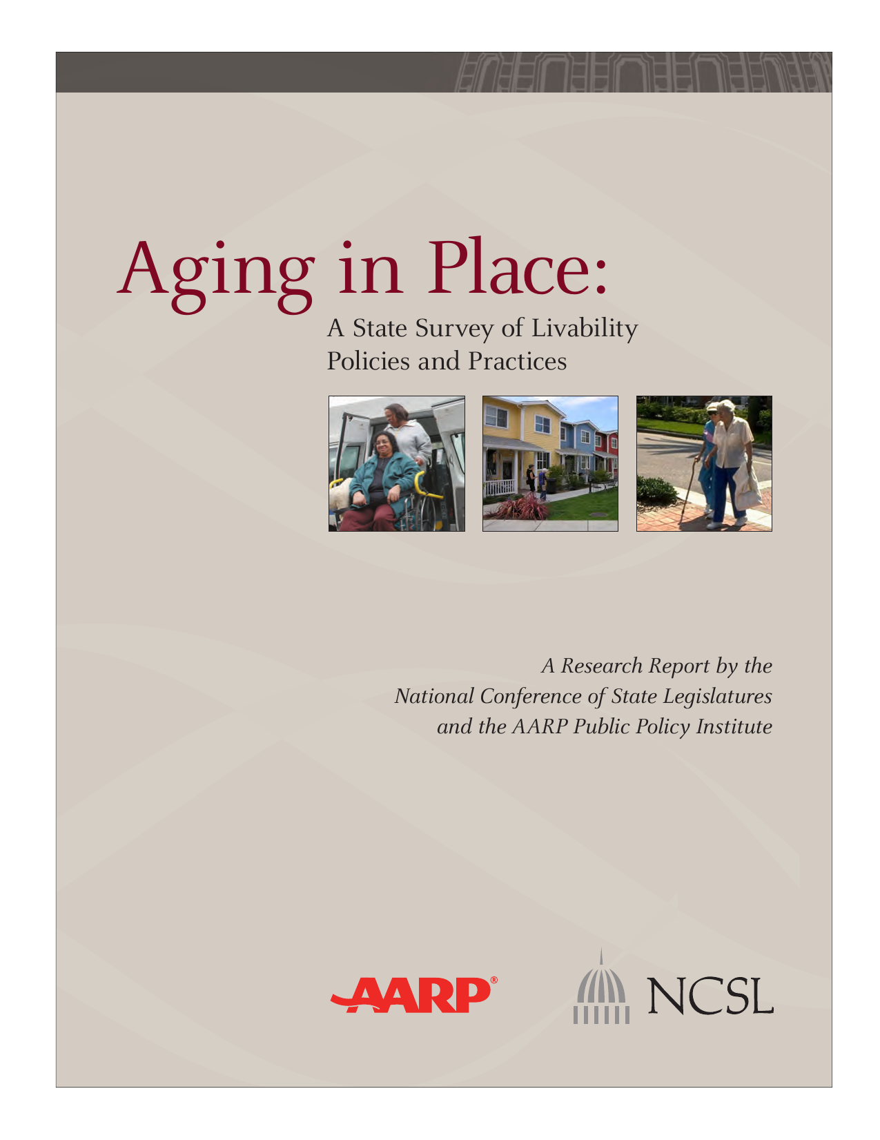 Aging in Place: A State Survey of Livability Policies and