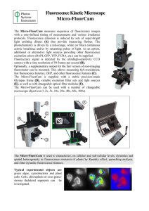 Micro-FluorCam Fluorescence Kinetic Microscope