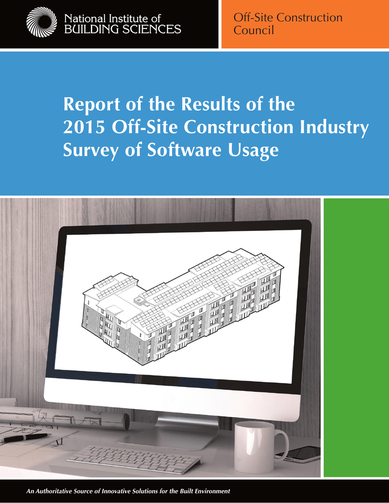 Report of the Results of the 2015 Off-Site Construction