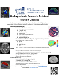 Undergraduate Research Assistant Position Opening