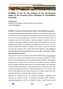 ECCBSO:  A  tool  for  the ... sector  of  the  economy  (from ...