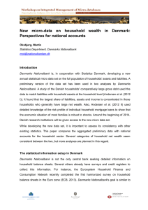 New  micro-data  on  household  wealth ... Perspectives for national accounts Introduction
