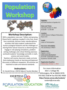 Workshop Description: