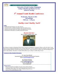 5 Annual Youth Health Conference