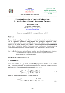 Extension Formulas of Lauricella's Functions by Applications of Dixon's Summation Theorem