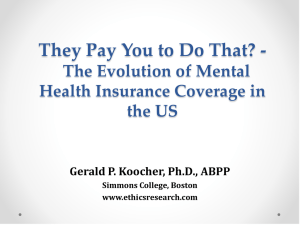 They Pay You to Do That? - The Evolution of Mental