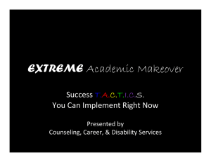 EXTREME S. Success  You Can Implement Right Now