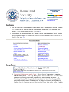 Homeland Security Daily Open Source Infrastructure Report for 13 December 2010