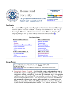 Homeland Security Daily Open Source Infrastructure Report for 9 December 2010