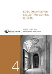 4 EXPECTATION-DRIVEN CYCLES: TIME-VARYING EFFECTS