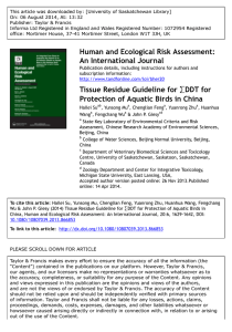 This article was downloaded by: [University of Saskatchewan Library]