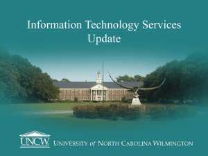 Information Technology Services Update