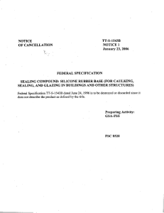TT-S-1543B NOTICE OF CANCELLATION NOTICE 1