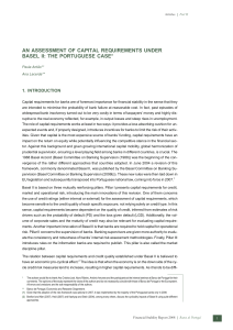 AN ASSESSMENT OF CAPITAL REQUIREMENTS UNDER BASEL II: THE PORTUGUESE CASE*