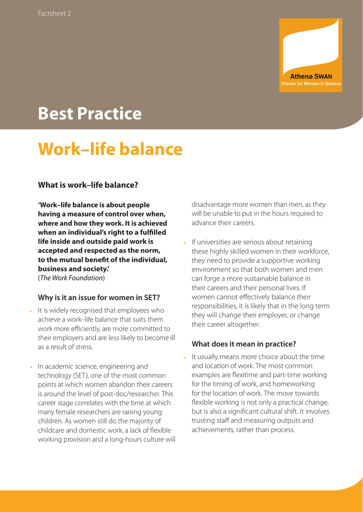 advantages and disadvantages of work life balance