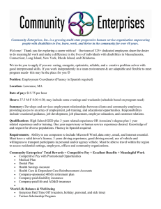 Community Enterprises, Inc. is a growing multi-state progressive human service...