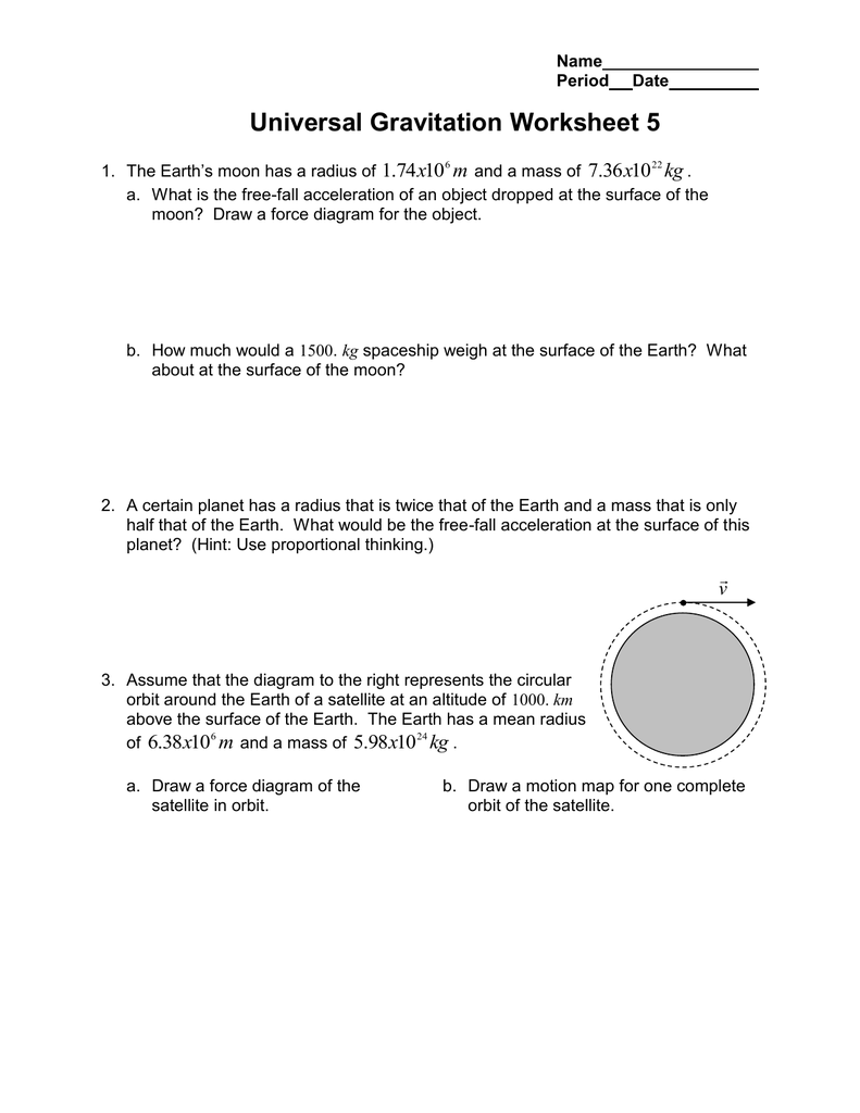 moreover Universal gravitation worksheet answer key  144021   Myscres likewise Universal gravitation worksheet answer key   Download them and try besides Physics Clroom Worksheet Answers Elegant Universal Gravitation moreover Universal Gravitation Worksheet 4 The Law of Universal Gravitation together with  additionally Law Of Universal Gravitation Worksheet ABITLIKETHIS  Universal moreover Law Of Universal Gravitation Worksheet 8   Livinghealthybulletin furthermore Worksheet Law Of Universal Gravitation Answer Key   Free Printables additionally Skill and Practice Worksheets likewise  in addition Newton's Law of Universal Gravitation   Regents Physics besides Universal Gravitation Worksheet 5 m x kg furthermore  furthermore Universal Gravitation Worksheet 4 The Law of Universal Gravitation additionally The Law of Universal Gravitation  Definition  Importance   Ex les. on law of universal gravitation worksheet