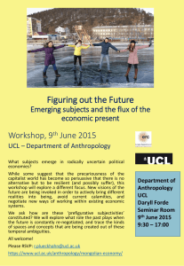 Figuring out the Future Workshop, 9 June 2015