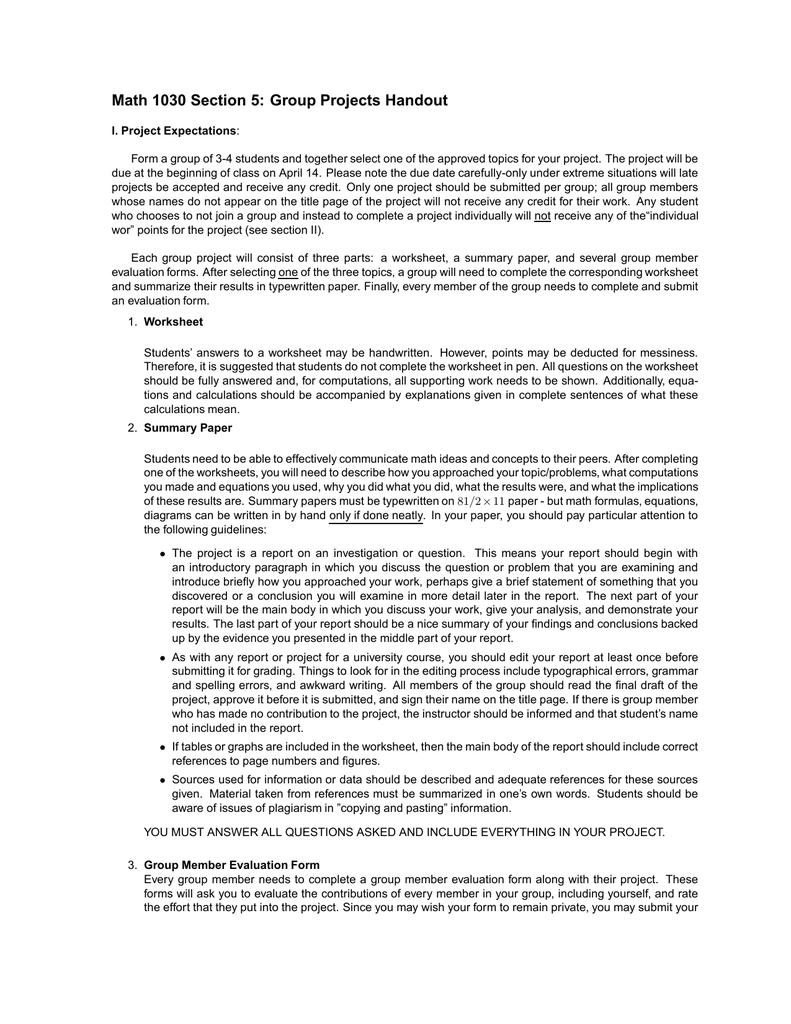reflective essay on group work pdf