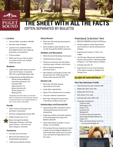 THE SHEET WITH ALL THE FACTS (OFTEN SEPARATED BY BULLETS) Location Study Abroad