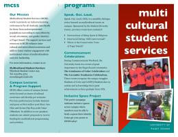 multi cultural programs mcss