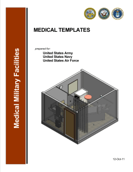 Medical Military Facilities MEDICAL TEMPLATES United States Army United States Navy