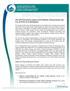 The IP3 Network for Improved Prediction, Measurement and