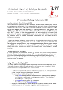 ILPP International Pathology Day Summaries 2014
