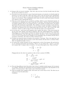 Exam 2 Practice Problems Solutions Math 5110/6830