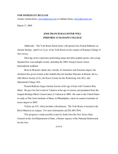 FOR IMMEDIATE RELEASE March 17, 2008 JOSE FRANCH-BALLESTER WILL