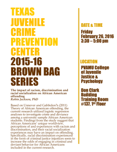 BROWN BAG SERIES TEXAS PREVENTION