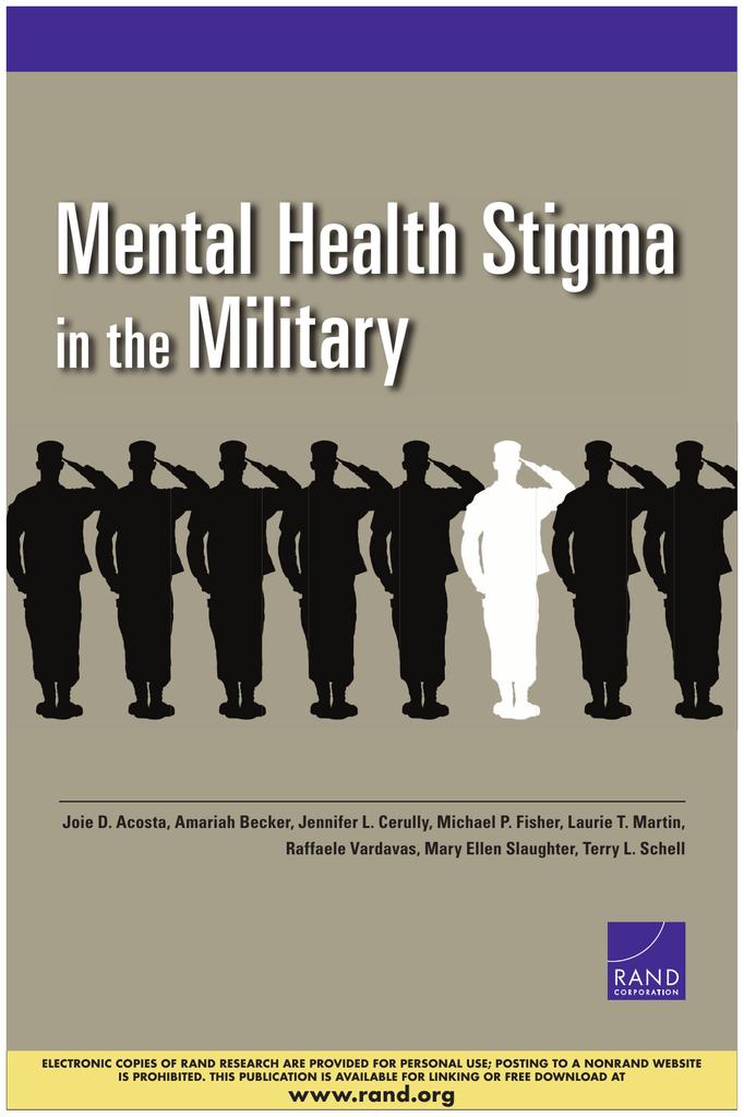 Mental Health Stigma Military In The