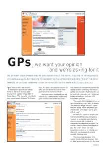 GPs we want your opinion and we're asking for it