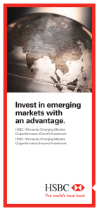 Invest in emerging markets with an advantage.