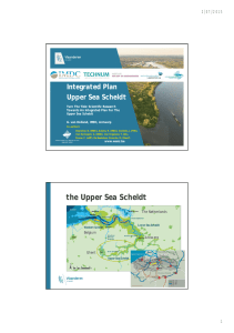 Integrated Plan Upper Sea Scheldt 2/07/2015