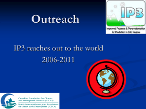 Outreach IP3 reaches out to the world 2006-2011