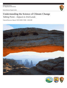 Understanding the Science of Climate Change Natural Resource Report NPS/NRPC/NRR—2010/209