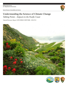 Understanding the Science of Climate Change Natural Resource Report NPS/NRSS/CCRP/NRR—2012/513