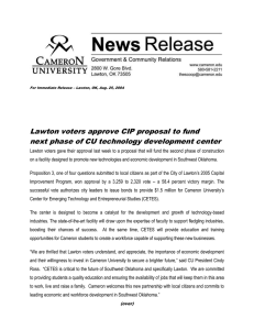 Lawton voters approve CIP proposal to fund