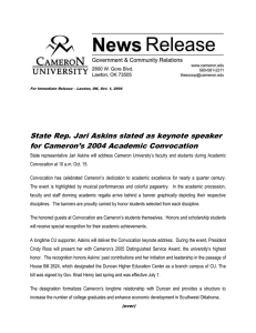 State Rep. Jari Askins slated as keynote speaker