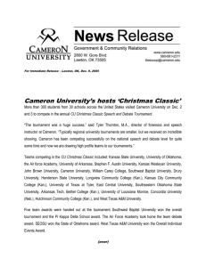Cameron University's hosts 'Christmas Classic'